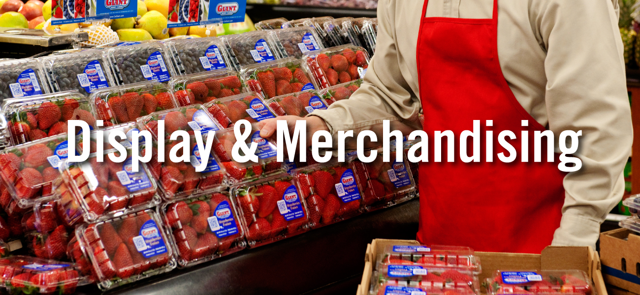 Display and Merchandising